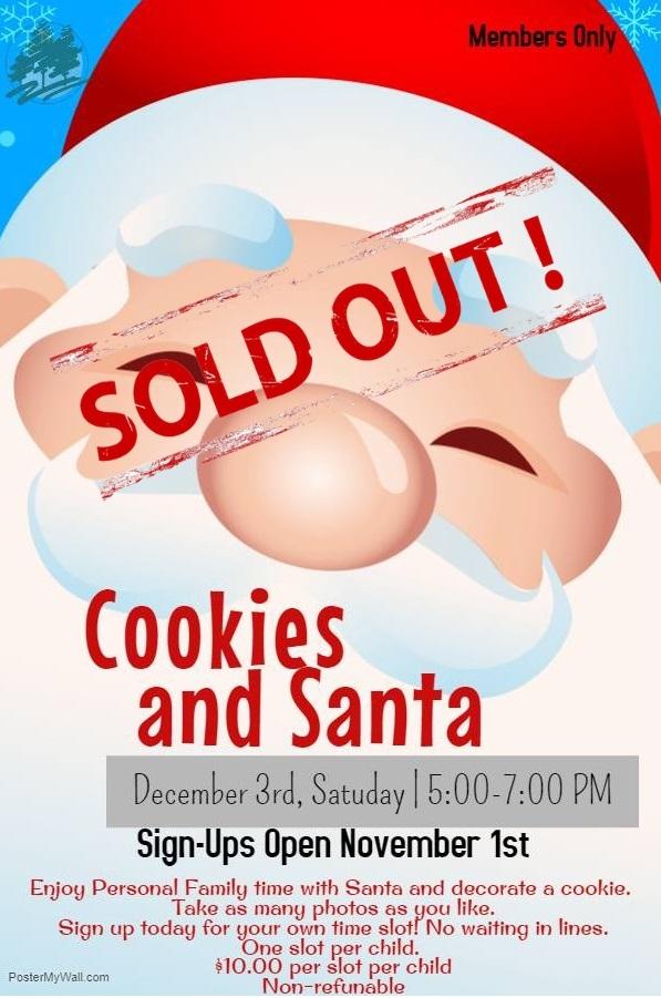 Cookies & Santa